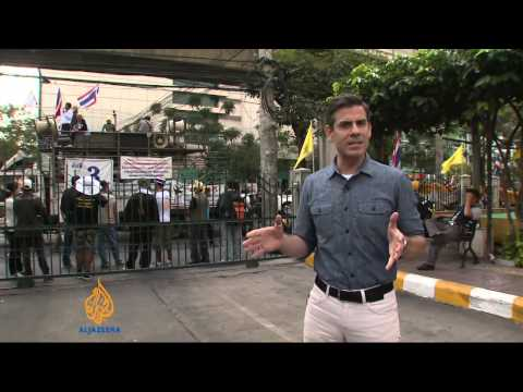 Thailand protesters disrupt general election