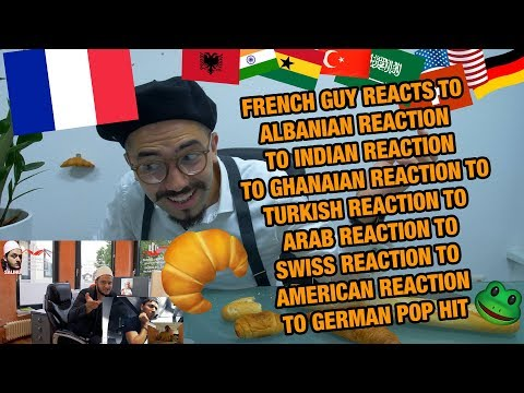 FRENCH GUY REACTS TO REACTIONS TO GERMAN POP HIT I Namika - Je ne parle pas francais feat. Black M
