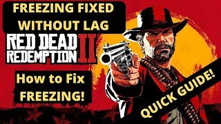 Red Dead Redemption 2 Freezing Fixed Without FPS DROPS| How To Fix Freezing|Crashing Launcher Exited