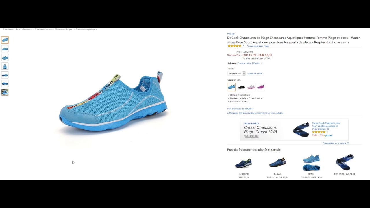 Spécial 2017 Code 23 Chaussures Amazon 10 Youtube Promo vwfEa