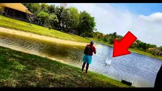 EPIC Drone Crash!! Fishing FAIL!