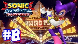 Sonic & All Stars Racing Transformed Wii U - World Tour - Part 8