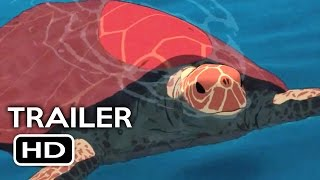 The Red Turtle Official Trailer #1 (2016) Studio Ghibli Animated Movie HD
