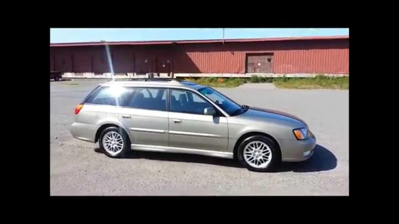 2001 Subaru Legacy Gt Awd Wagon 111kms Auto Sunroof
