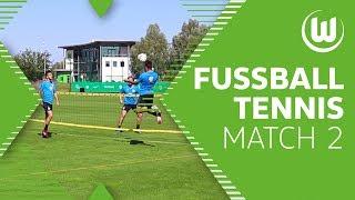 Chefcoach spielt mit - Fußball-Tennis mit Malli, Steffen, Brekalo und Co.