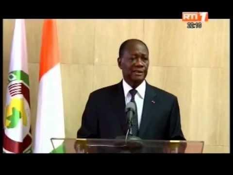 De retour à Abidjan, le President de la republique fait le point de son séjour au Sénégal