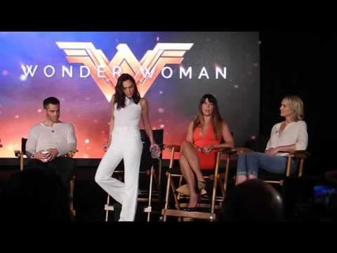 Full Video: Gal Gadot, Chris Pine, Wonder Woman Co-Stars and Director Press Conference