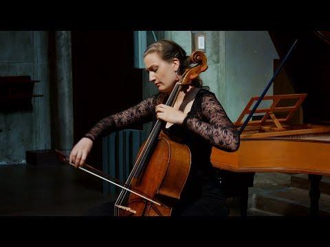 Bach - Cello Suite No. 2 in D Minor BWV 1008, Allemande; Eva Lymenstull 4K UHD