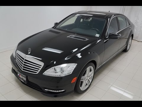 2012 mercedes benz s550 4matic awd w221 sedan - youtube