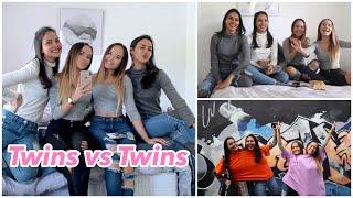 Download lagu Twins Telepathy Challenge  + Vlog (malu maluin diri di mall)