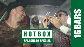 Hotbox mit sido, kool savas, marteria, paul ripke, juju, dj desue, jumpa und marvin game | 16bars.tv