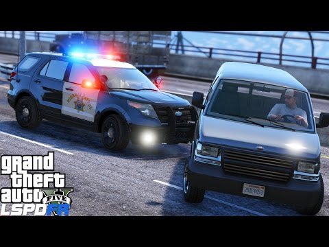 GTA 5 LSPDFR Police Mod 325 | California Highway Patrol Ends Pursuit With The Pit Maneuver | CHP