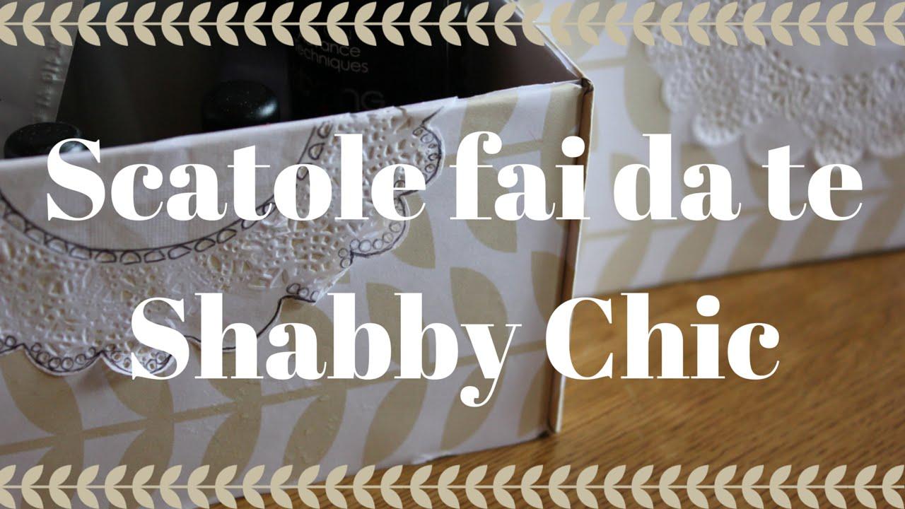 Scatole Shabby Chic fai da te  DIY Shabby Chic  Roberta Nina ...