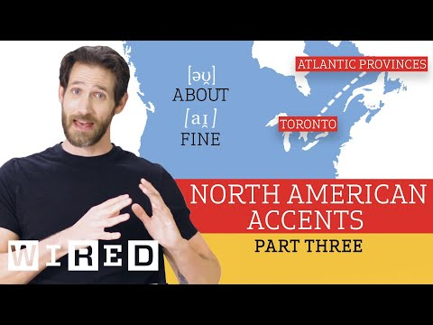 Accent Expert Gives a Tour of North American Accents - (Part