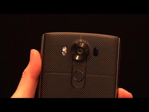 Up close with the LG V10