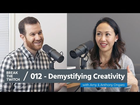 Episode 012 // Demystifying Creativity with Amy and Anthony Ongaro