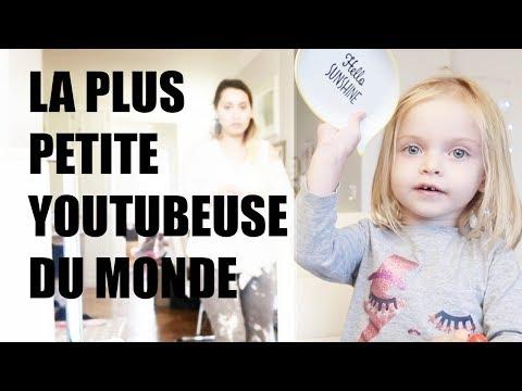LA PLUS PETITE YOUTUBEUSE DU MONDE ! - FAMILY VLOG