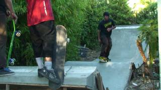 Santa Cruz Backyard Diy Concrete Skate Contraptions