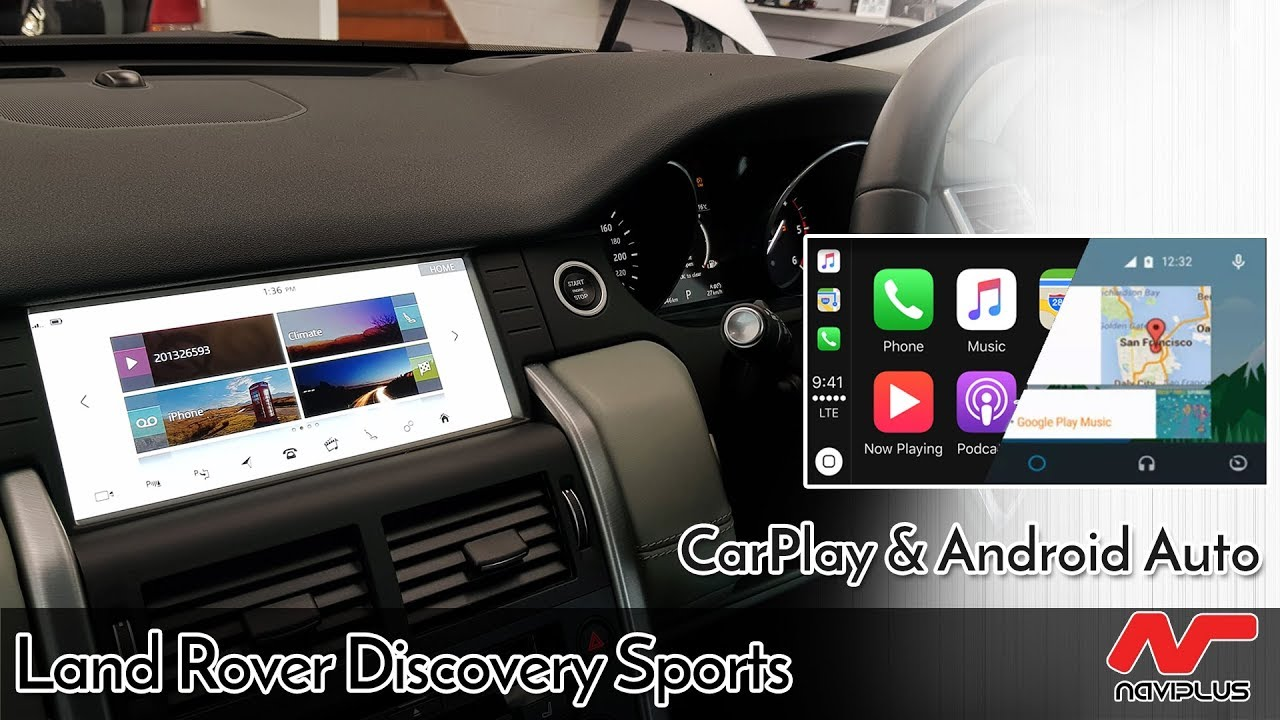 Land Rover Discovery Sports 2018 Apple Carplay Android Auto Installed On 10 2 Meridian System Youtube
