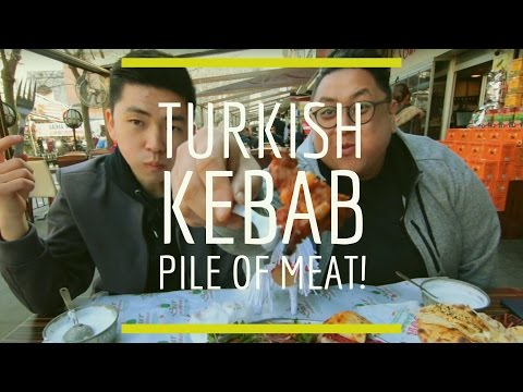 "Yabancılar Kebap Deniyor Turkish Kebab ""Pile of Meat!"""