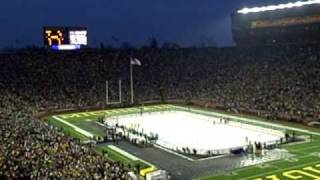 Michigan vs Michigan State Outdoor Hockey Game - Ann Arbor, MI Dec