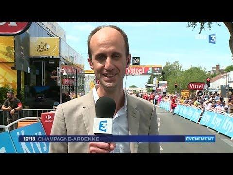 Page spéciale JT 12/13 Tour de France à Troyes (jeudi 06/07)