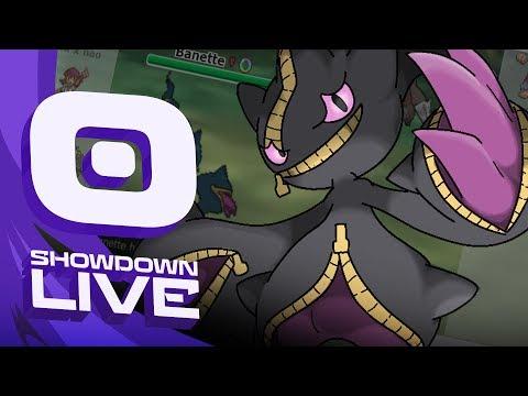 """""""Enter Mega Banette"""" Pokemon Sun & Moon! OU Showdown Live w/PokeaimMD"""