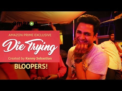 Die Trying : The album out now! Blooper Reel   Created by Kenny Sebastian