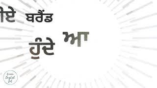 Purje / Whatsapp Status / Mankirt Aulakh / New Punjabi Song 2019