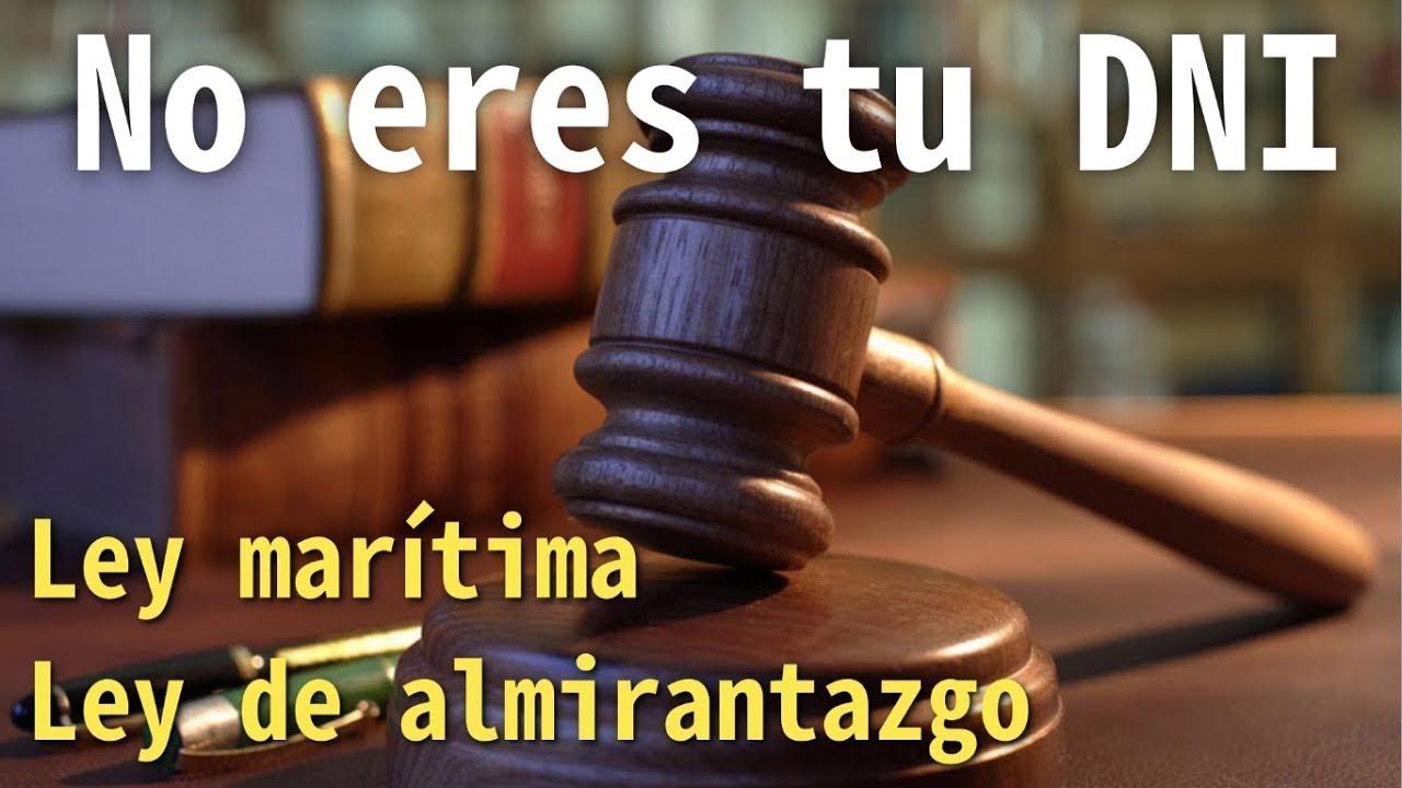 JORDAN MAXWELL. LEY DE ALMIRANTAZGO Y LEY MARÍTIMA