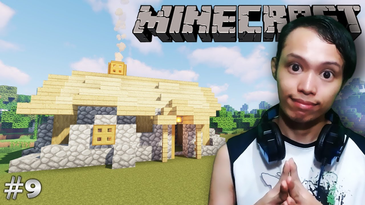MEDIEVAL HOUSE   Minecraft Java Edition (Survival) - Part ...
