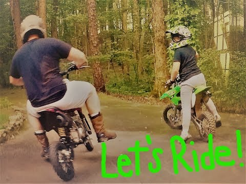 Let's ride some dirt bikes!!