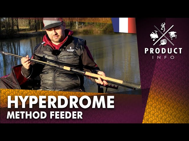 Hyperdrome Method Feeder Rod