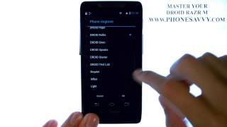 Motorola Droid Razr M - How Do I Change the Ringtone