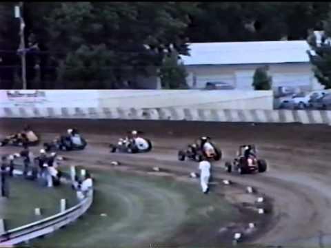 Badger Midget Heat 2 June 28 1987