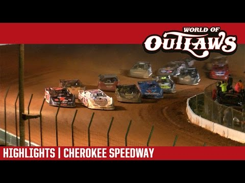World of Outlaws Craftsman Late Models Cherokee Speedway May 5, 2017 | HIGHLIGHTS