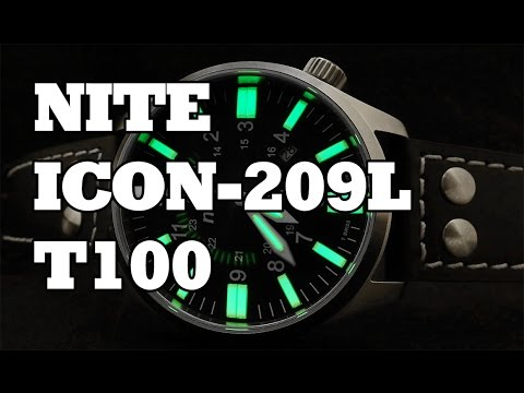 Nite  Icon-209L T100 - Review, Measurements and Tritium