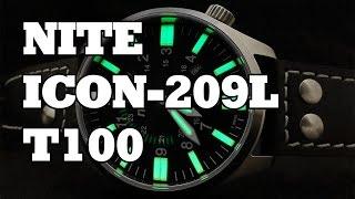 d0de50a3a2e4 Armourlite ISO Brite ISO301 Tritium Glow Analog Mens Sport Watch ...