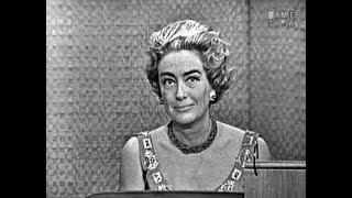 What's My Line? - Joan Crawford; Tony Randall [panel] (Oct 14, 1962)