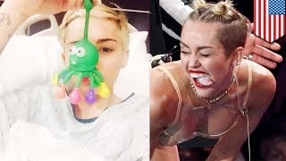 Miley Cyrus hospitalized for