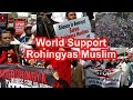 VIDEO - Muslim World's Protest In Support Of Rohingya Muslims - HUNGAMA