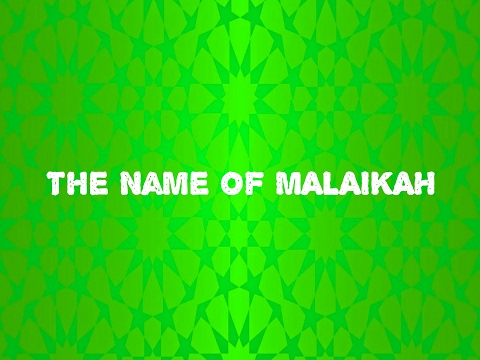 The Name of MALAIKAH