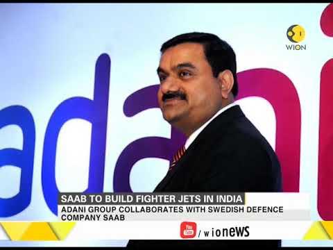 Adani Group collaborates with Swedish defence company SAAB