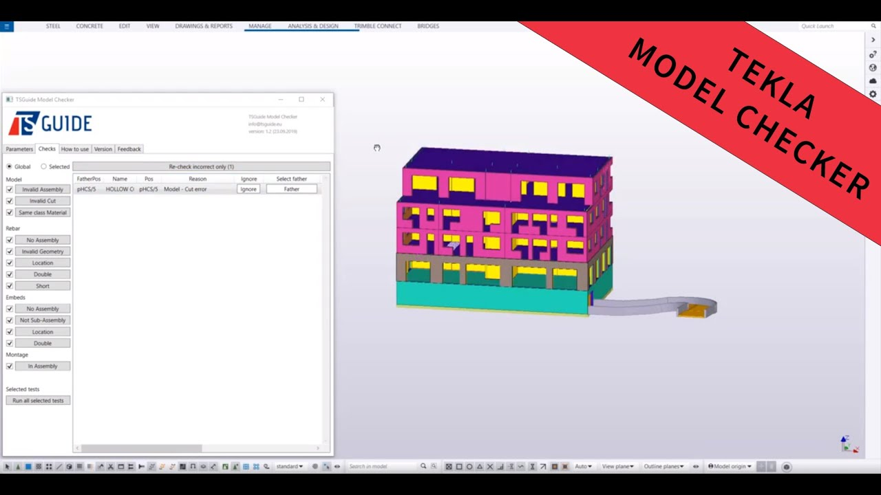 Tekla Developer Awards 2019 Entries Tekla Developer Center