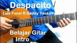 Video Belajar Gitar Despacito Luis Fonsi ft. Daddy Yankee (Intro) - Belajar Gitar Fingerstyle Untuk Pemula download MP3, 3GP, MP4, WEBM, AVI, FLV Mei 2018