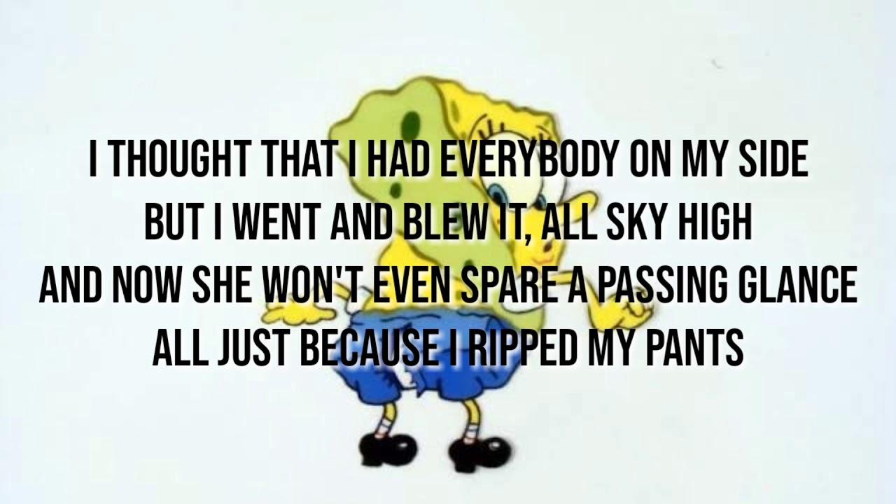 Spongebob   Ripped Pants lyrics Chords   Chordify