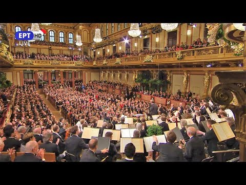 2019 New Year's Concert ~ Vienna Philharmonic Orchestra (30 sec. potpourri)