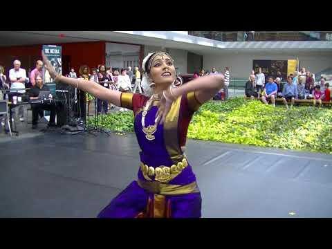 Krithika Rajkumar Bharatanatyam dance at Cleveland Museum of Art