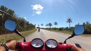Moped Ride in Bermuda #1.  St. George