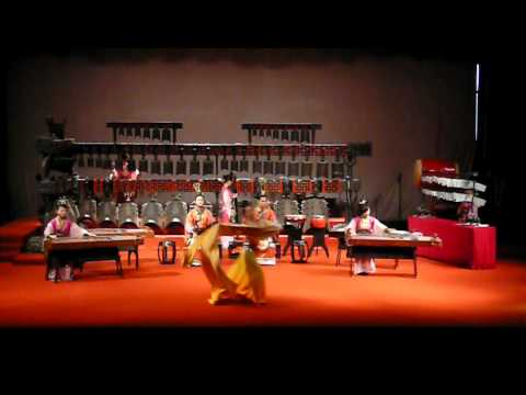 500 B.C.  Ancient Chinese Music instruments with Dance Wuhan China Part two